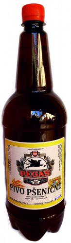 Pšeničné pivo 12 st. pet láhev 1,5l