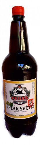 Světlý ležák 12 st. pet láhev 1,5l